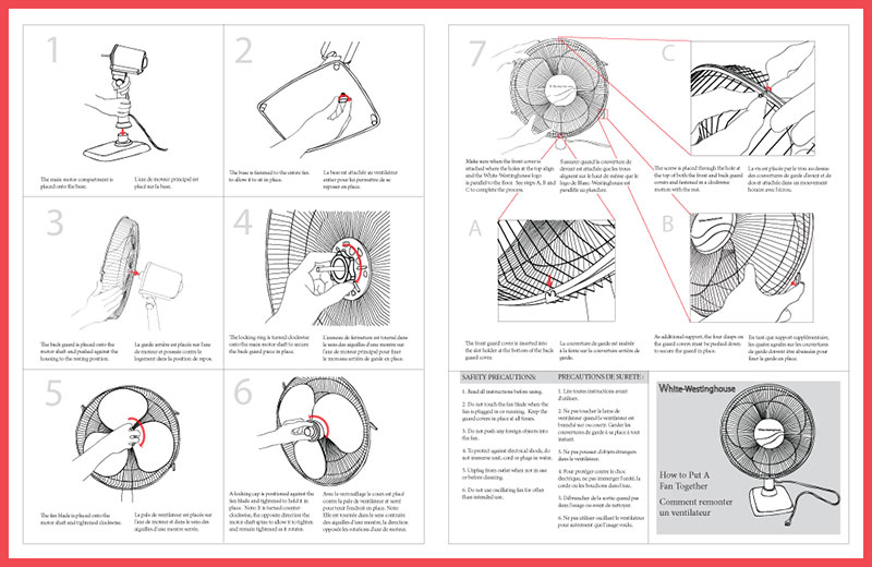 Oscillating Fan Instruction Manual  Leanne Kroll