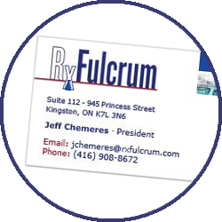 rxfulcrum-business-card